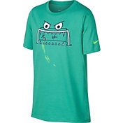 Nike Boys' Dry Feed The Goal Graphic Tee