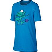 Nike Boys' Sportswear Futura Dude Soccer Graphic Tee