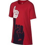 Nike Boys' Sportswear Number One Graphic Tee