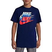 Nike Boys' Sportswear Sunset Futura Graphic Tee