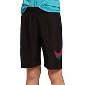 "Nike Boys' Mash Up Solid 8"" Volley Swim Trunks"