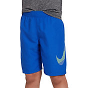 "031d162f16711 Product Image · Nike Boys' Mash Up Solid 8"" Volley Swim Trunks"