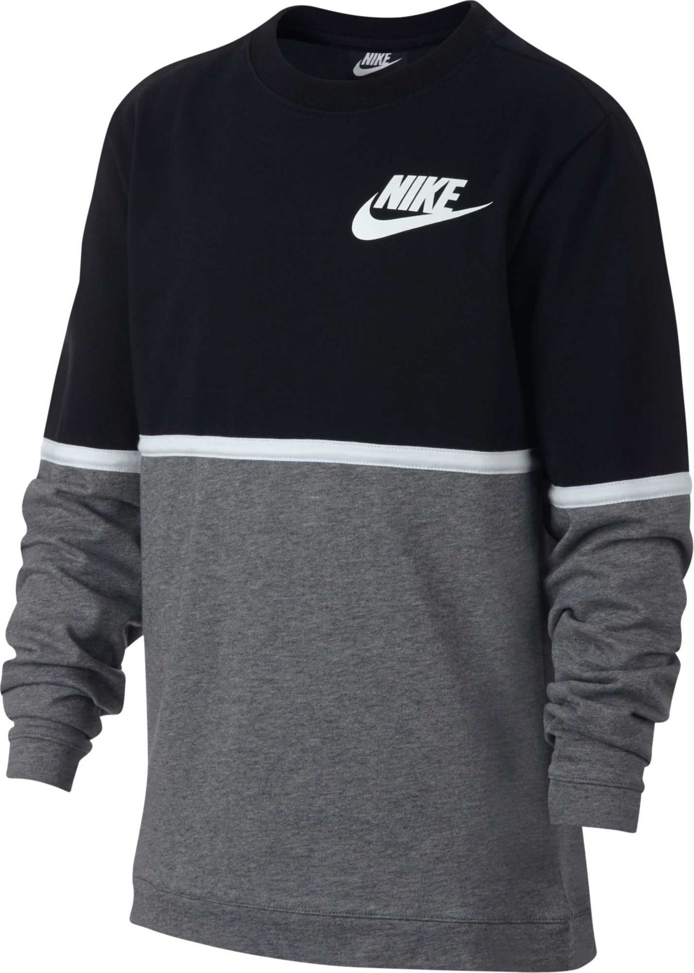 Nike Boys' Sportswear Advance 15 Long Sleeve Tee