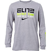 Nike Boys' Sportswear Elite Long Sleeve T-Shirt