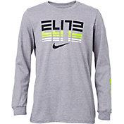 363865009b97 Product Image · Nike Boys  Sportswear Elite Long Sleeve T-Shirt