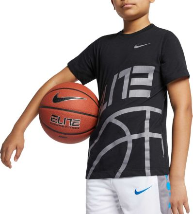 f12aebb87476 Nike Boys  39  Exclusive Dri-FIT Elite Graphic Tee