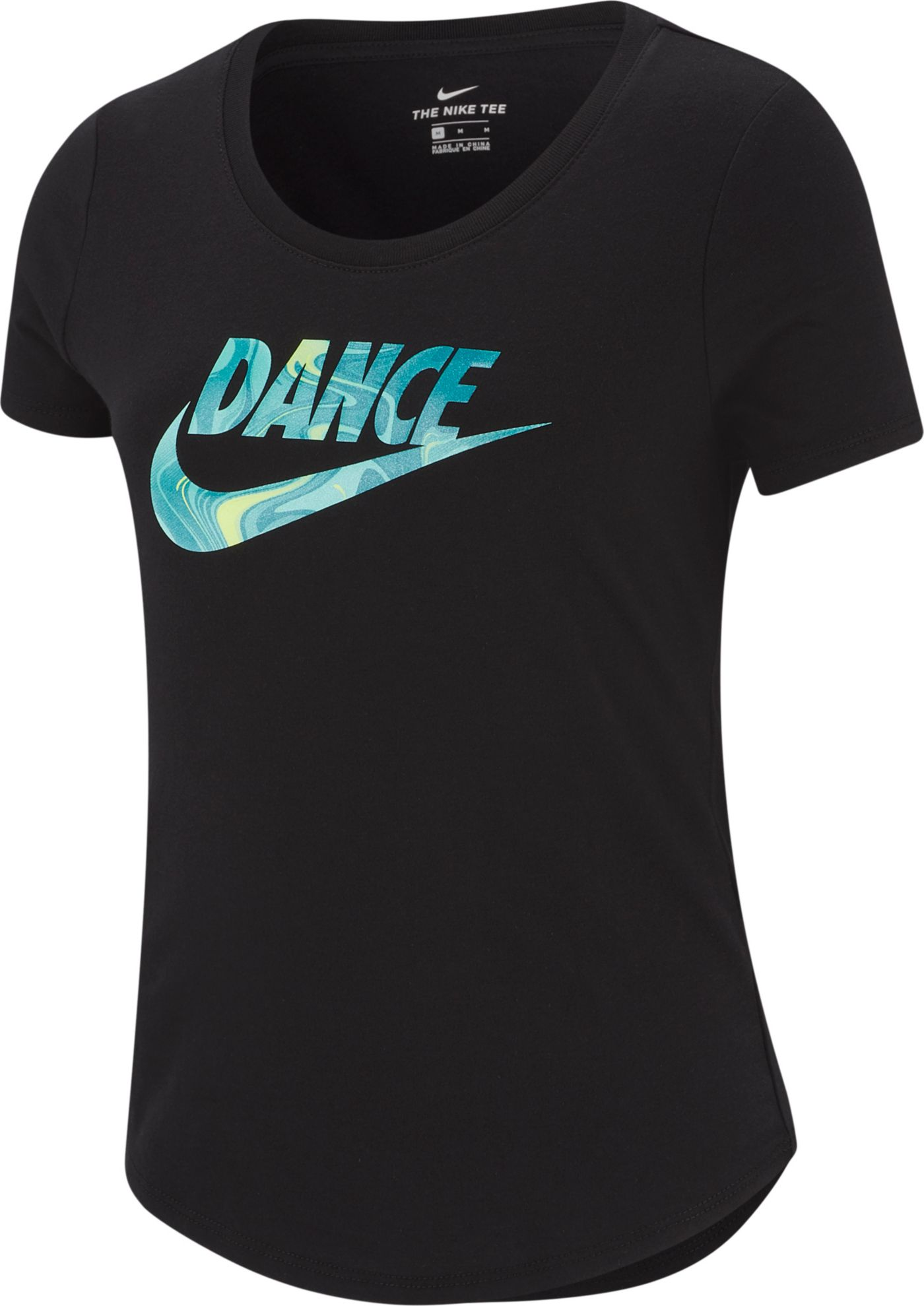 Nike Girls' Dri-FIT Dance Graphic Tee