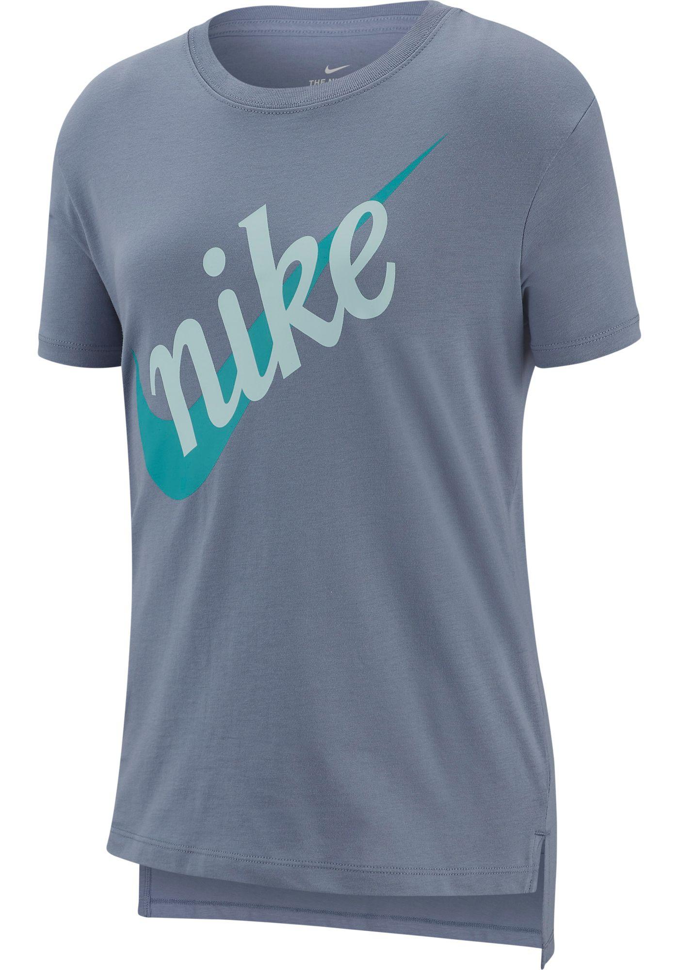 Nike Girls' Sportswear Script Futura Graphic Tee
