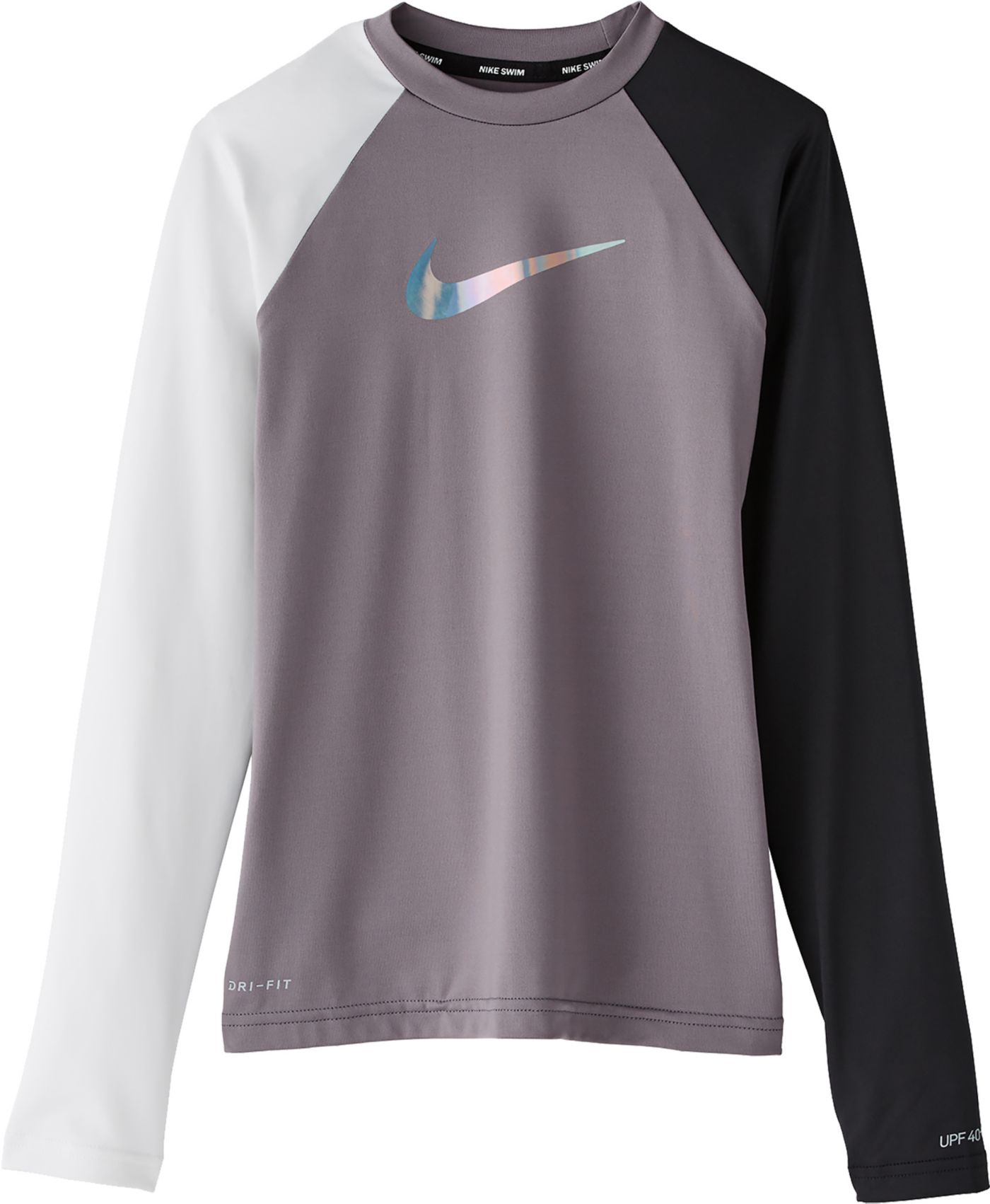 Nike Girls' Flash Long Sleeve Hydro Rash Guard