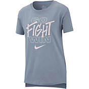 Nike Girls' Go Fight Win Graphic Tee