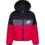 Nike Girls' Polyfill Blocked Insulated Puffer Jacket
