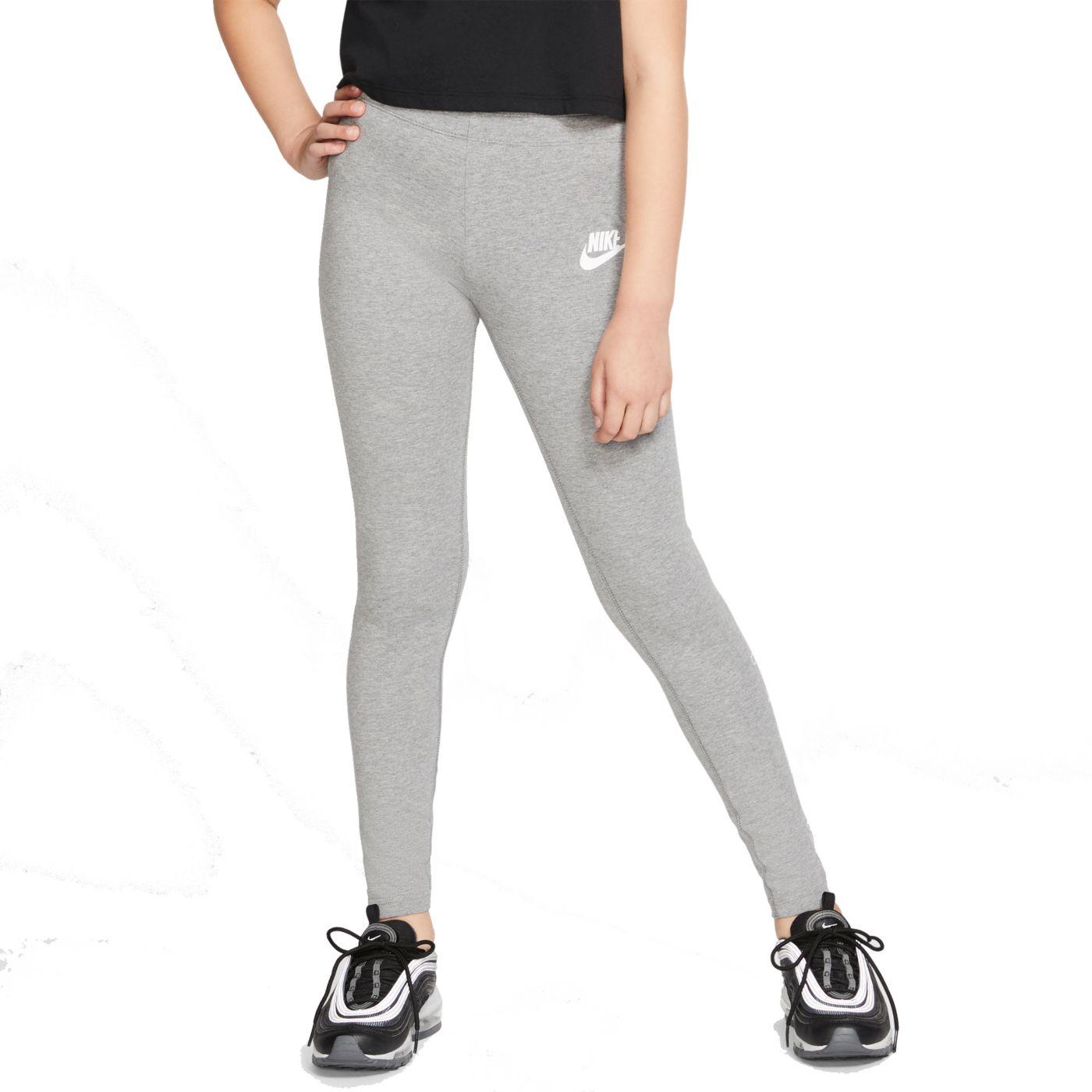 Nike Girls' Sportswear High Brand Read Leggings