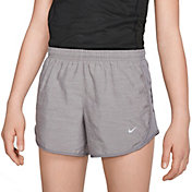 Nike Girls' Dry Heathered Tempo Running Shorts