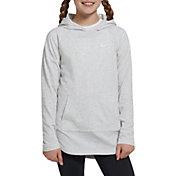 Nike Girls' Sportswear Jersey Hooded Pullover