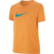 Nike Girls' Dry Legend V-Neck T-Shirt