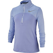 Nike Girls' Dry Element Long Sleeve 1/2 Zip Pullover