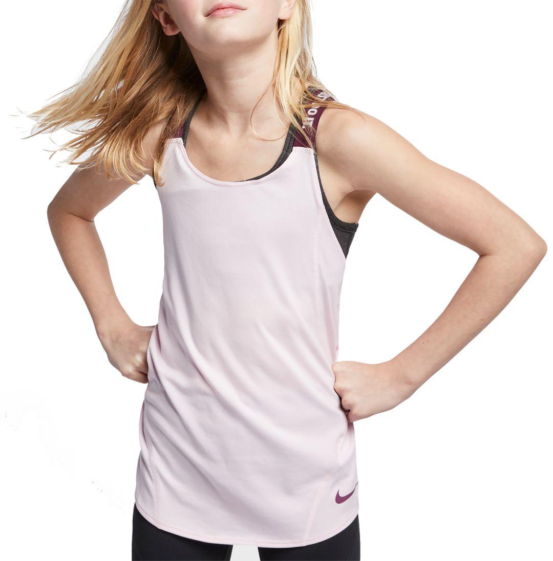 2c6592553c Nike Girls' Dry Elastika Training Tank Top | DICK'S Sporting Goods
