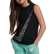 Nike Girls' Multispray Graphic Tank Top