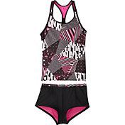 Nike Girls' Mash Up Racerback Tankini Set