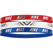 Nike Girls' Metallic Headband – 3 Pack