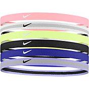 Nike Girls' Swoosh Sport 2.0 Headbands – 6-Pack