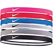 Nike Girls' Swoosh Sport 2.0 Headbands – 6-Pack