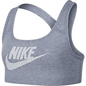 Nike Girls' Sportswear Cotton Veneer Sports Bra