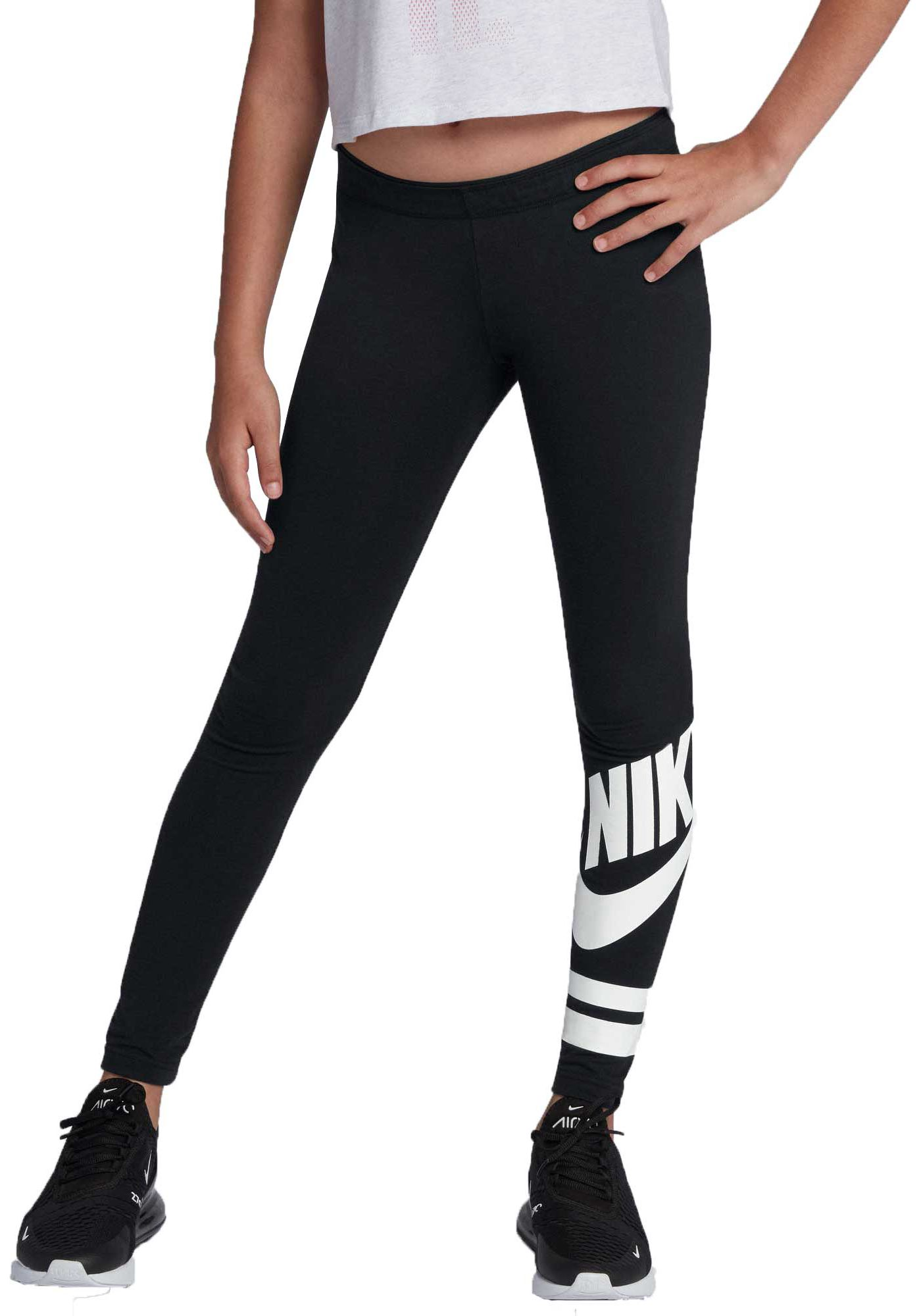 Nike Girls' Sportswear Favorites Graphic Leggings