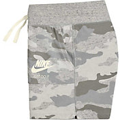 Nike Girls' Sportswear Gym Vintage Camo Shorts
