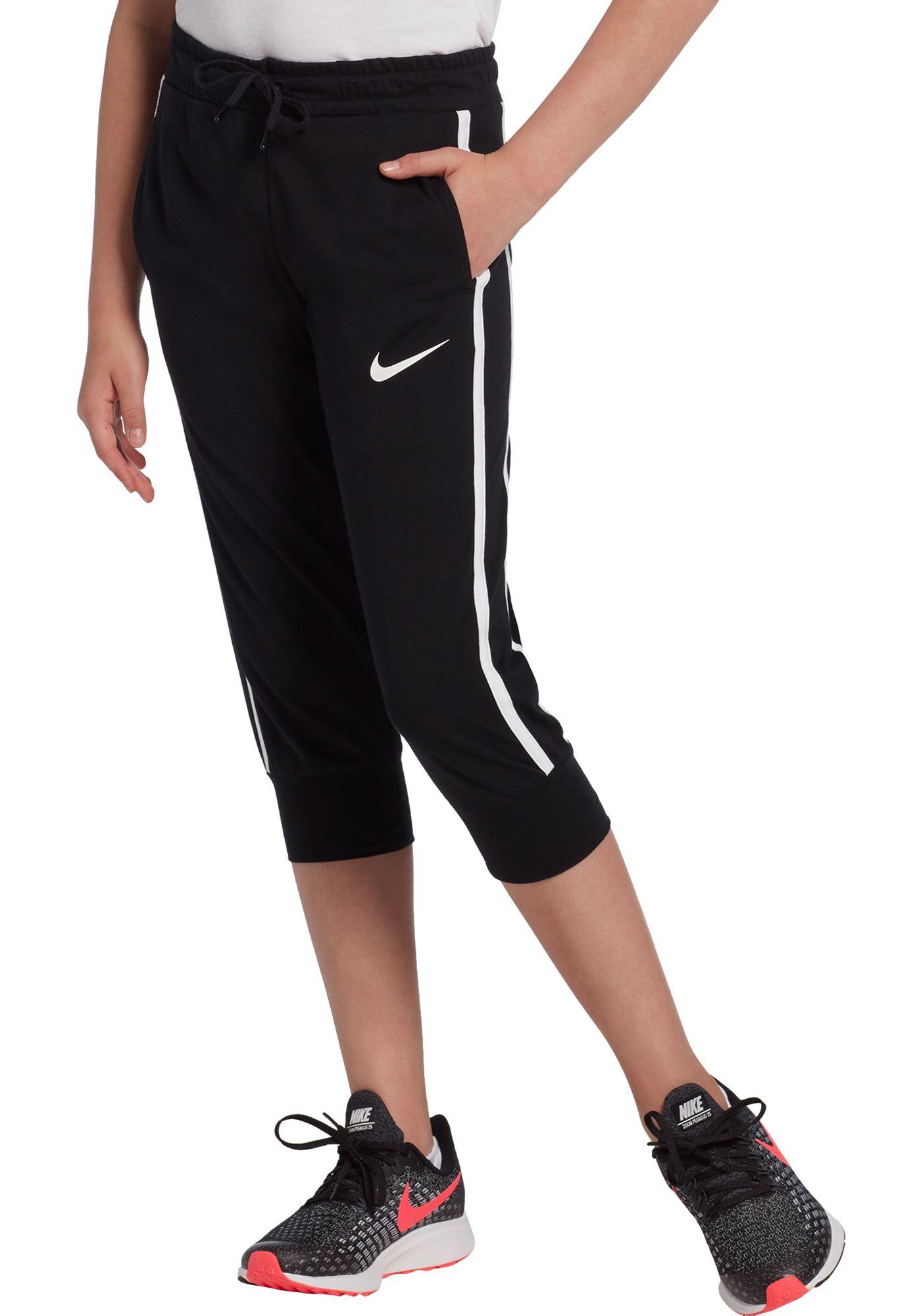 Nike Girls' Sportswear Jersey Capris