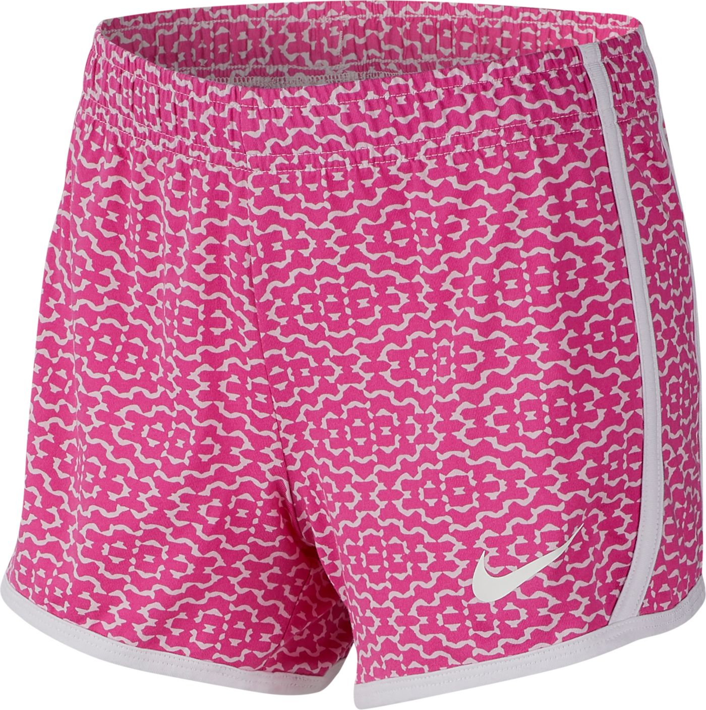 Nike Girls' Sportswear Printed Jersey Shorts