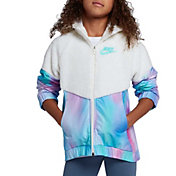 Nike Girls' Sportswear Sherpa Unicorn Windrunner Jacket
