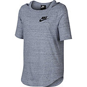 Nike Girls' Sportswear Short Sleeve Shirt