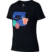 Nike Girls' Stickers Graphic T-Shirt
