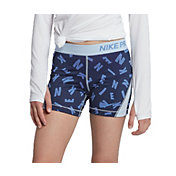 Nike Girls' Pro Printed Boy Shorts