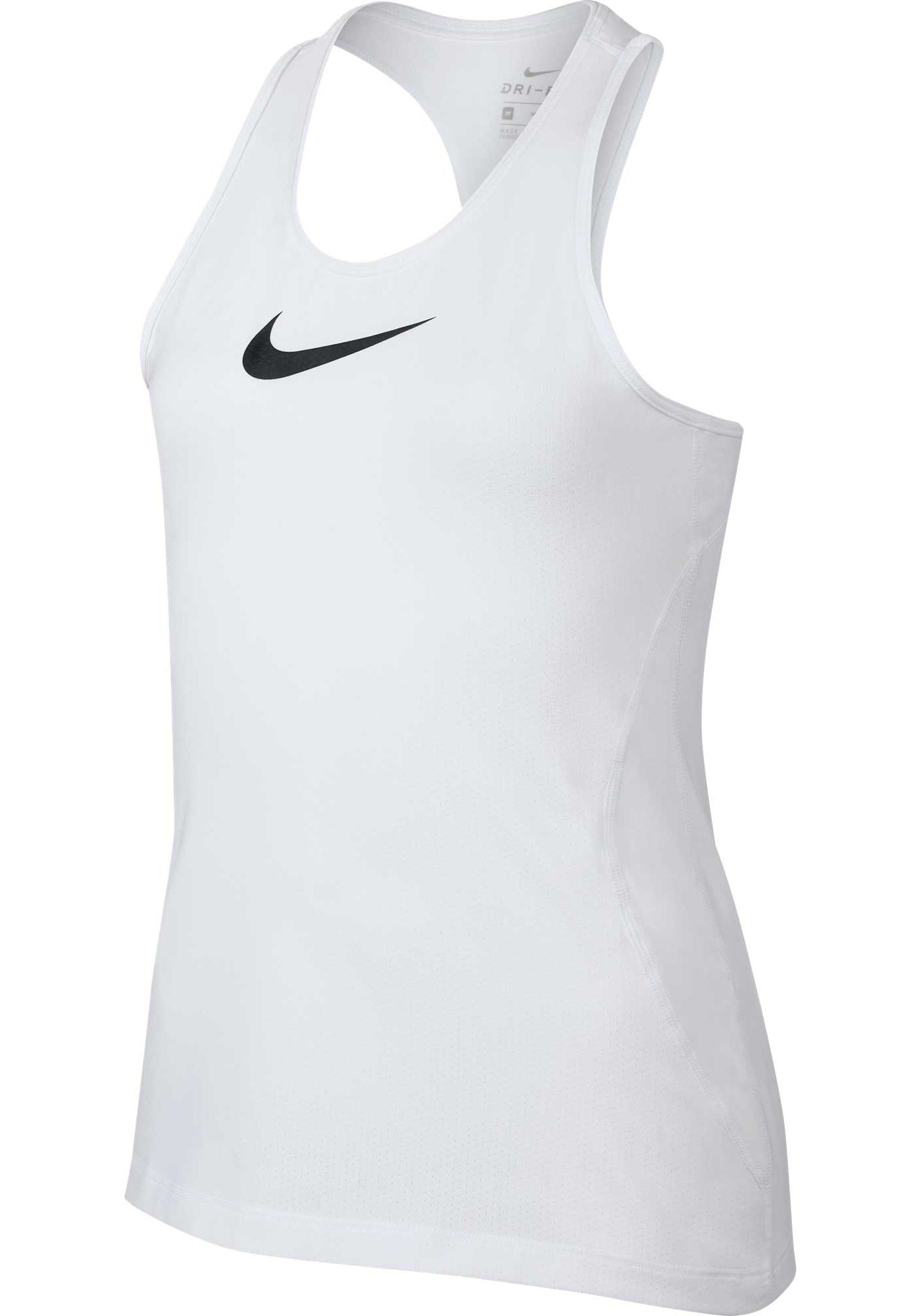 Nike Girls' Pro Dri-FIT Racerback Tank Top