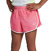 Nike Girls' Dry Micro Master Printed Tempo Shorts