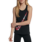 Nike Girls' Dry Squiggle Swoosh Racerback Tank Top