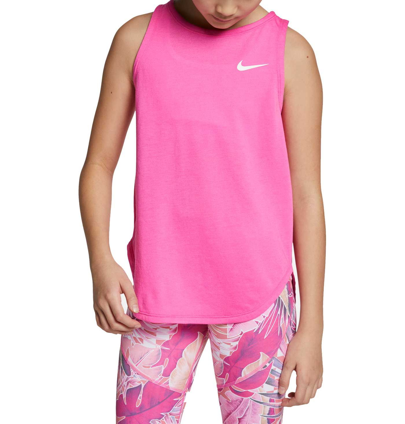 Nike Girls' Dri-FIT Studio Tank Top