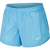 Nike Girls' Dry Tempo Shine Running Shorts