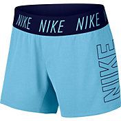 Nike Girls' Dry Trophy Graphic Shorts