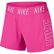 818497343 Product Image · Nike Girls' Dry Trophy Graphic Shorts