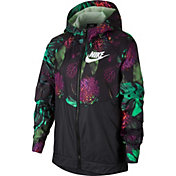 9bb7acc13b43 Product Image · Nike Girls  Sportswear Printed Windrunner Jacket
