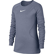 Nike Girls' Warm Dri-FIT Long Sleeve Training Shirt