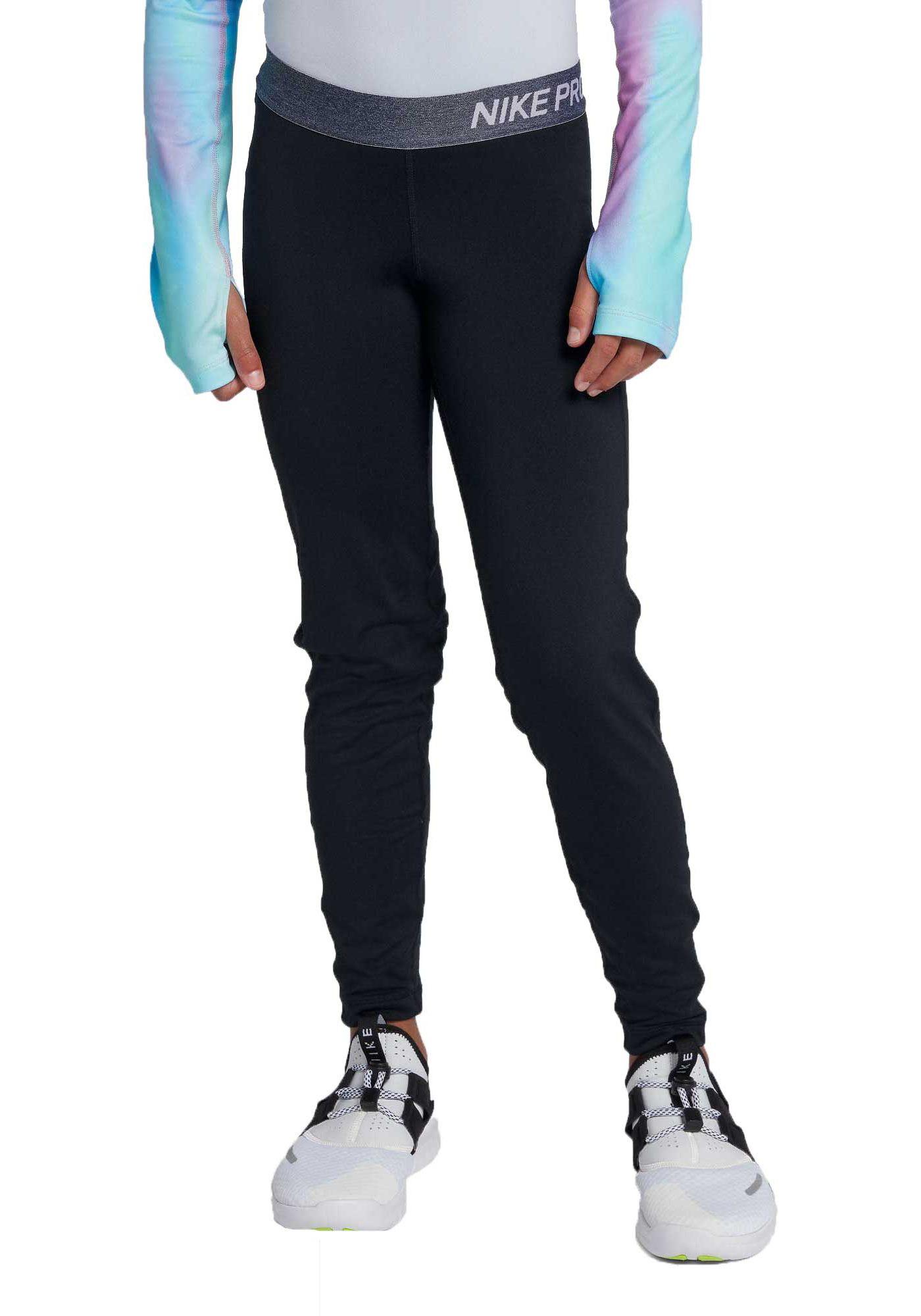 Nike Girls' Pro Dri-FIT Warm Training Tights