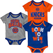 Outerstuff Infant New York Knicks 3-Piece Onesie Set