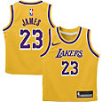 Nike Infant Los Angeles Lakers LeBron James #23 Gold Dri-FIT Swingman Jersey
