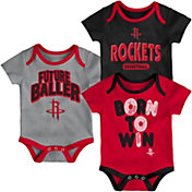 Outerstuff Infant Houston Rockets 3-Piece Onesie Set