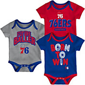 Outerstuff Infant Philadelphia 76ers 3-Piece Onesie Set