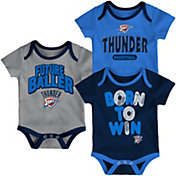Outerstuff Infant Oklahoma City Thunder 3-Piece Onesie Set